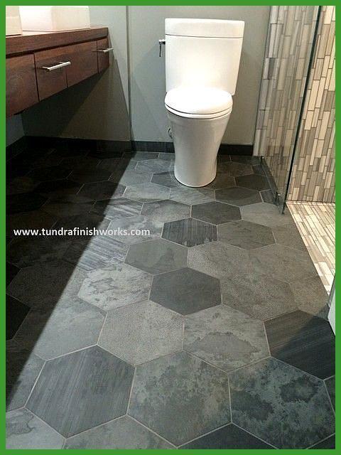 Breathtaking Hex Tile Floor Large Slate Hexagon Tiled Throughout 4