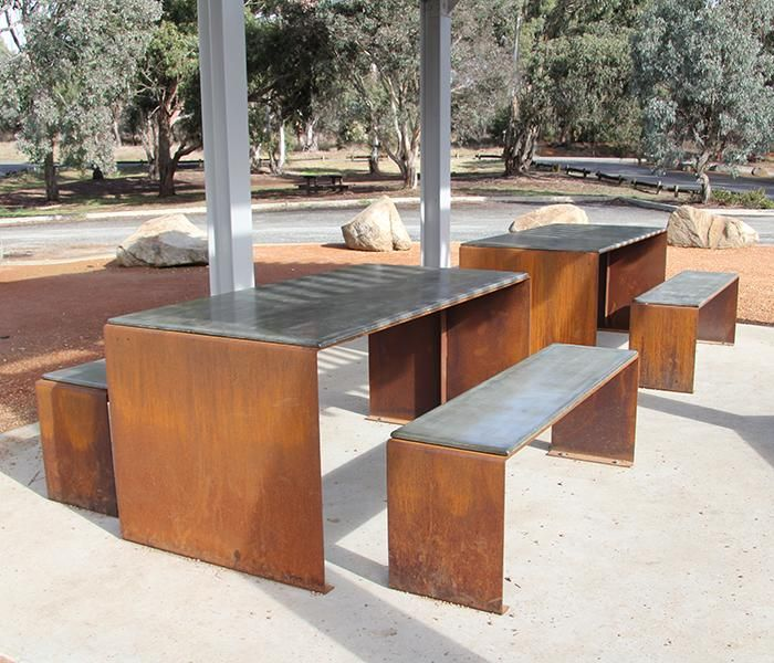 Corten Steel Furniture Google Search Corten Steel
