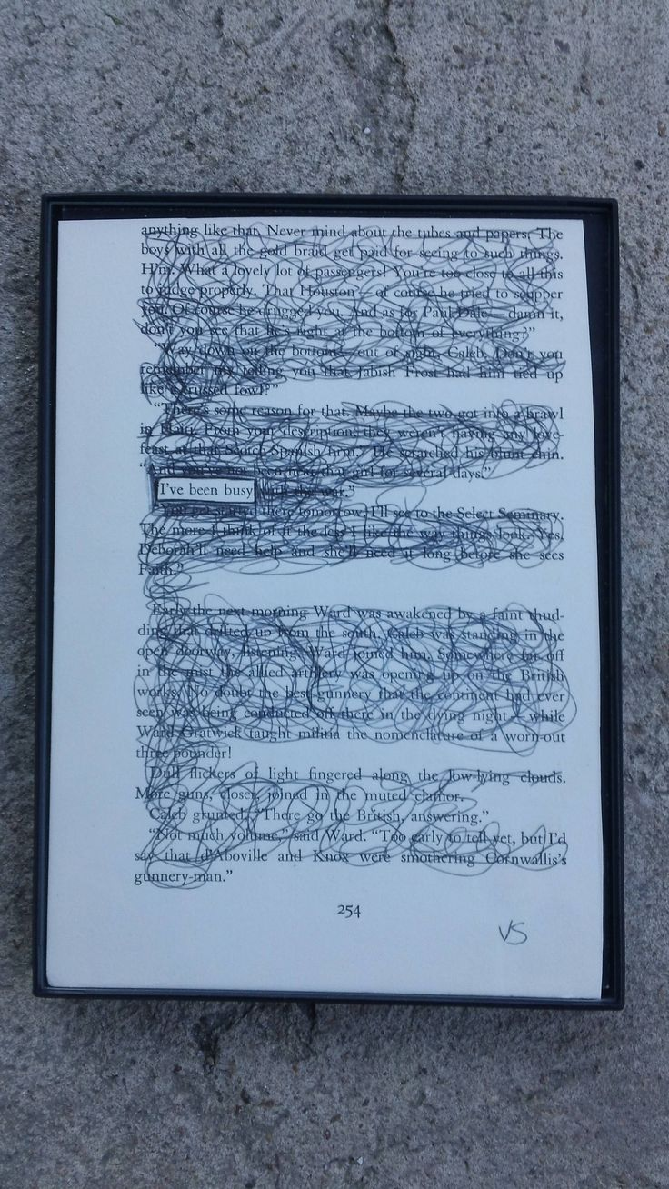 Black Out Poetry, Framed Art, Wall Art, Home Decor, Book Page Art, Handmade Art, Poetry Art, Unique Art, Handmade Framed Art, Word Art by ValerieShaversArt on Etsy