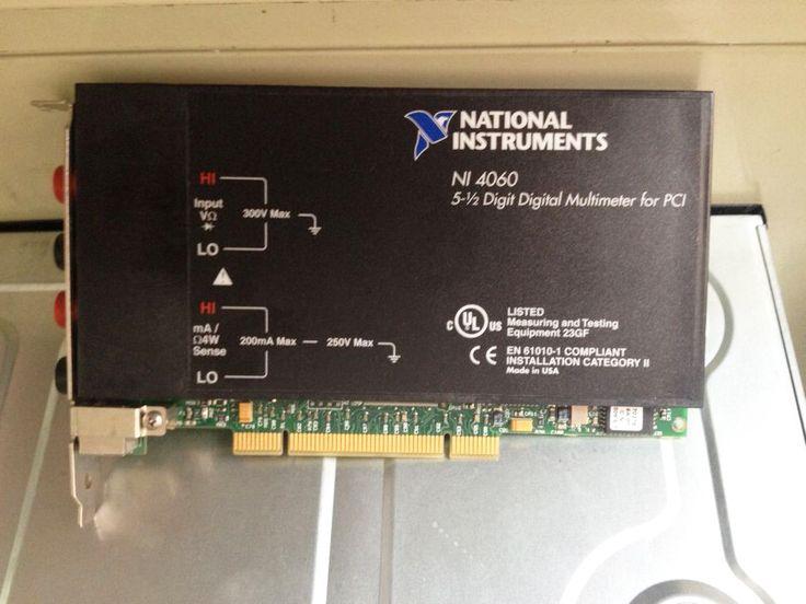 National Instruments NI PCI-4060 5-1/2 Digital Multimeter PCI Card