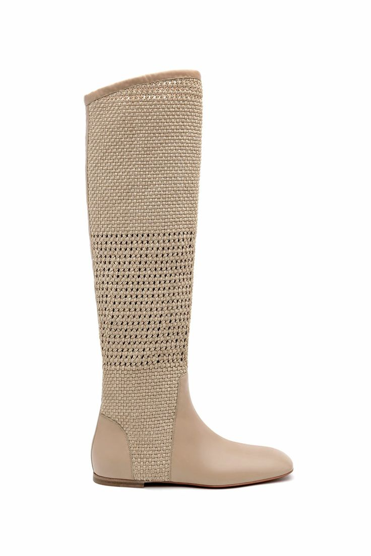 Santoni | knee high #boot http://santonishoes.com/it/stivale-54414.html
