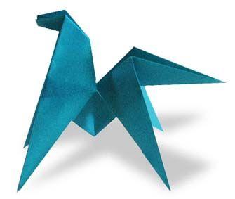 Origami Runt Pony