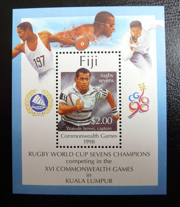 Fiji 1998 - For more #rugby collectables check out my blog: http://www.rocky-rugby.com/