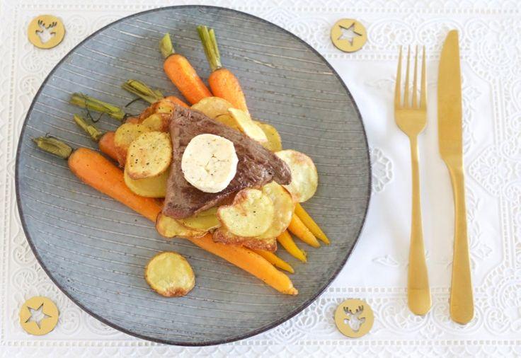 5 OR LESS: Biefstuk met knoflookboter en crispy aardappels