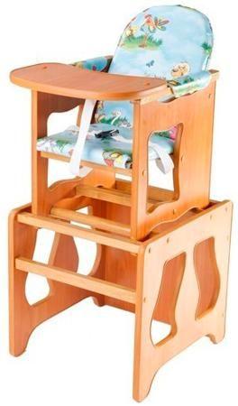 Пмдк Стол-стул премьер лдсп светлый орех (клеёнка) (лужок)  — 1958р.  Стол-стул для кормления Премьер Удобный и функциональный стульчик для кормления. Легко трансформируется в столик и стул для малыша. Для создания высокого стульчика для кормления вам нужно установить  малый стул на столик. Стульчик устойчив и не опрокидывается. Края сглажены и безопасны для ребенка. 3-точечные ремни безопасности. Удобный съемный моющийся чехол из непромокаемой бязи. Высота от пола 52 см. Рекомендована для…