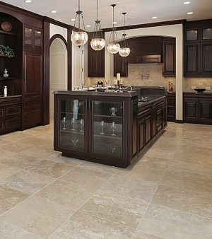 Travertine Floor Restoration in Houston | Bright & Light Floors