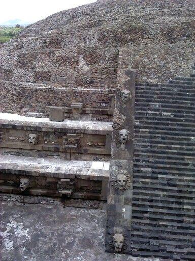 Templo de Quetzalcoatl, Teotihuacan, Estado de México, México