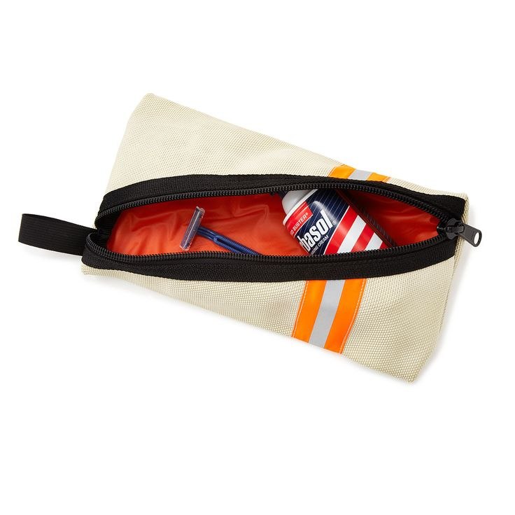 UPCYCLED FIRE HOSE DOPP BAG | recycled fire hoses |  $49, UncommonGoods