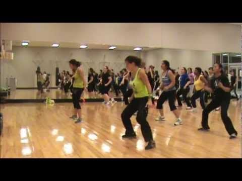 Choreography to Shake Senora by Pitbull ft T-Pain & Sean Paul with instructors Alexandra & Sonia. Intended for fitness class