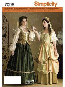 Simplicity: Simplicity - Kostüme - Historisches Kleid