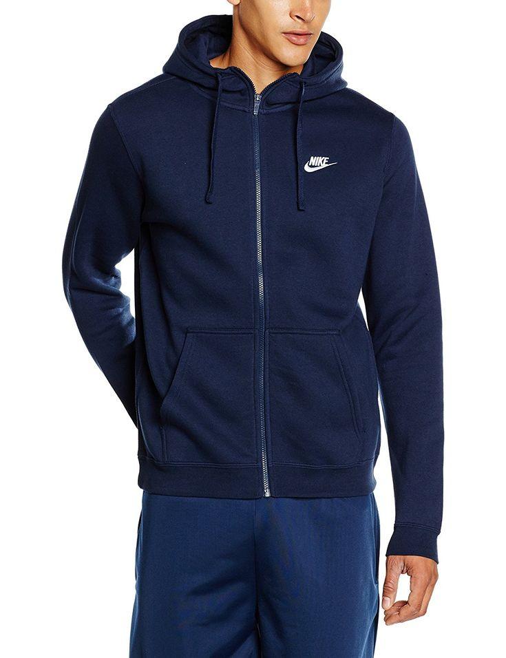 Superisparmio's Post Felpa Nike  Nike Felpa Con Cappuccio Uomo Blu Ossidiana/Blu/Bianco  A solo 33.16   http://amzn.to/2mrzsJl