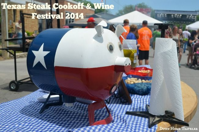 11th Annual Texas Steak & Wine Festival  Hico, Texas 3rd Saturday in May
