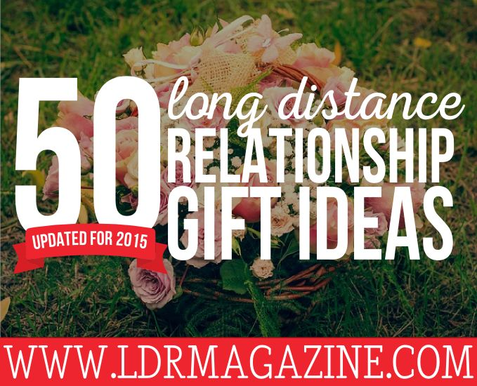 Updated list of 50 long distance relationship ideas!