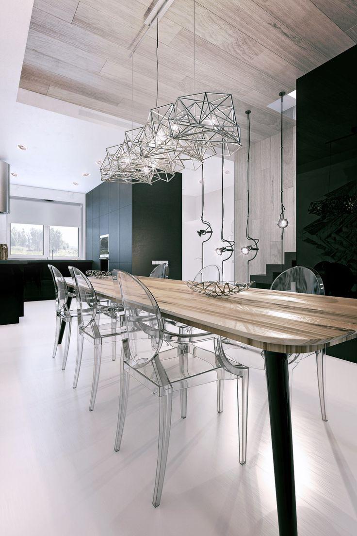 Таунхаус - 3D-проекты интерьеров в стиле лофт | PINWIN - конкурсы для…