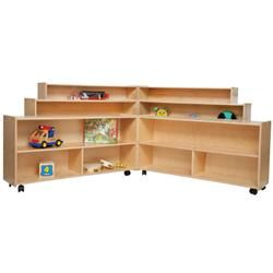Contender MOBILE FOLDING STORAGE Units - Need to 'put away' your resources each week because your classroom is used by others? Do you want to use Godly Play but do not have a dedicated space? Be creative in how you organize your resources to make it a moveable feast.