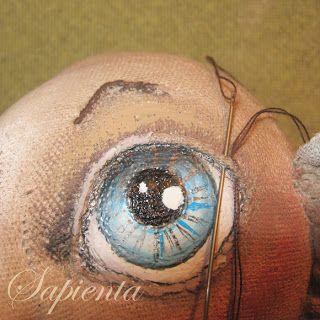 Обыкновенное чудо: Мастер класс - Роспись лица текстильной кукле и ресницы