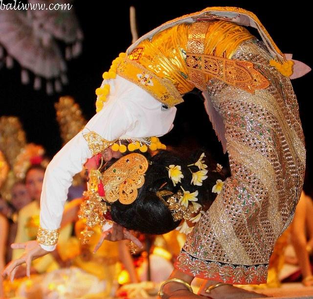 Wonderful Balinese Dancer pose, Indonesia.