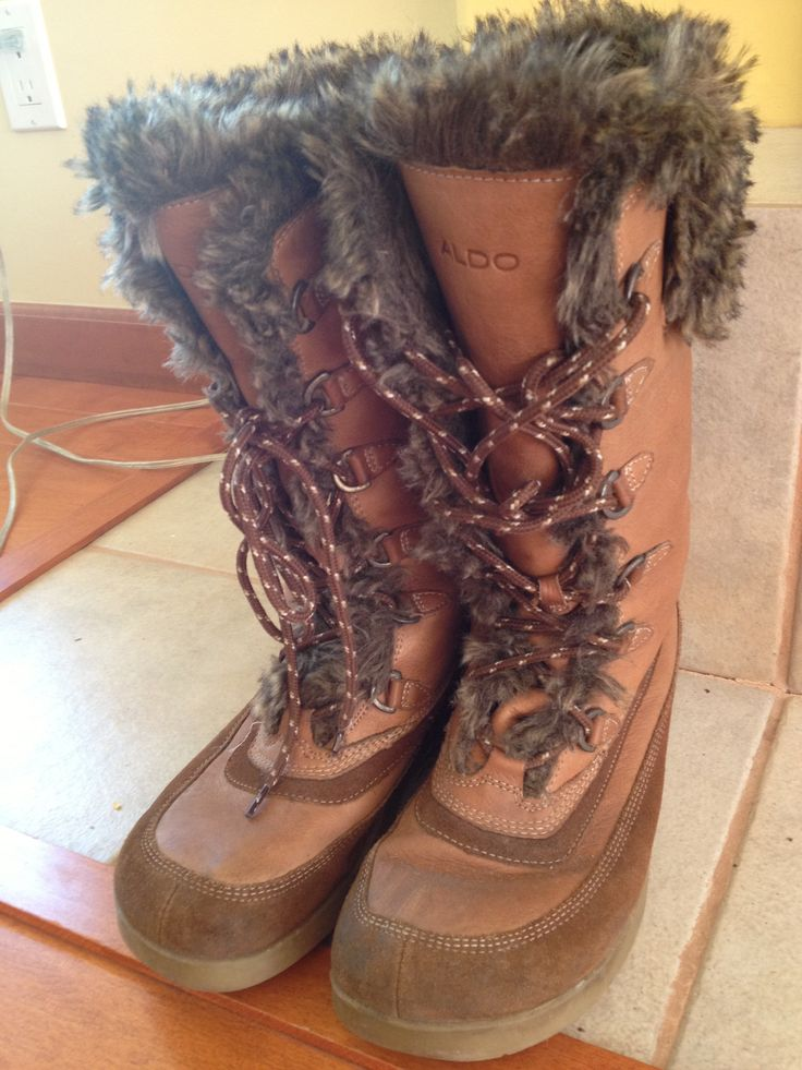 Aldo winter boots, size 10 (fits small) - $40.00
