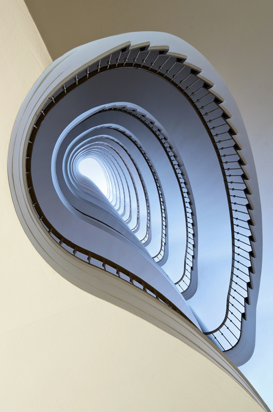 "Spiral Staircases - talk about ""spiral""!"