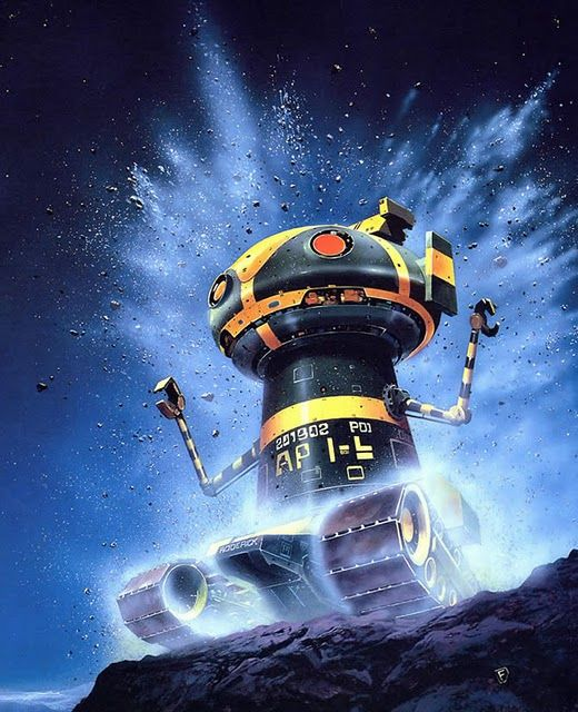 10 Cool Sci Fi Retro Artworks: 17 Best Images About Chris Foss On Pinterest