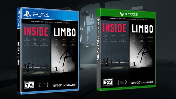 Inside / Limbo physical double pack launches September 12 in North America September 15 in Europe - Gematsu #Playstation4 #PS4 #Sony #videogames #playstation #gamer #games #gaming