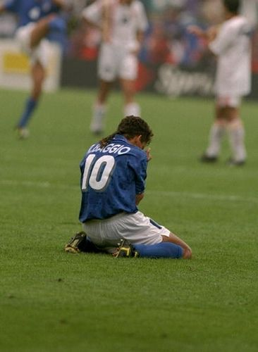 Roberto Baggio, Hero will be alive in our mind forever.Whether he got a goal or not.