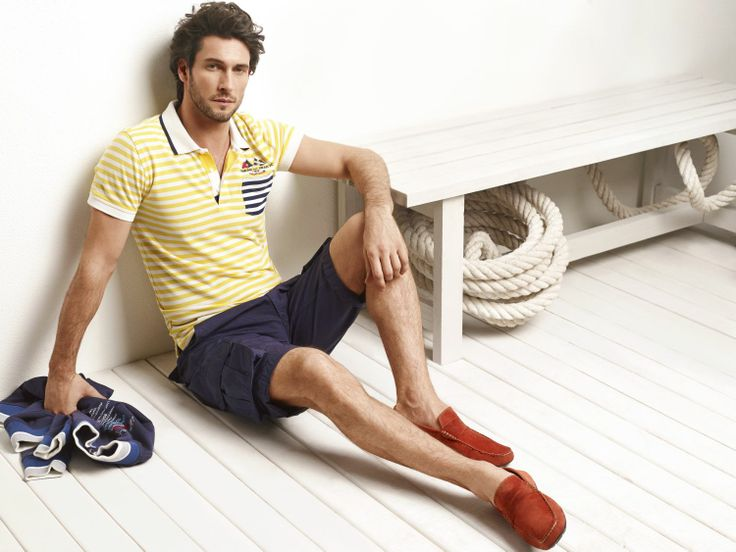 D'S Casual Spring/Summer 2014  #DsDamat #Casual #Newseason #SS2014  #mensfashion #menstyle #fashion #style  #tshirt #shorts #yellow #loafer #red