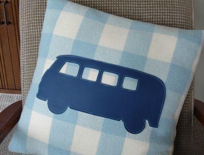 Upcycled NZ Wool Blanket Cushions | Felt