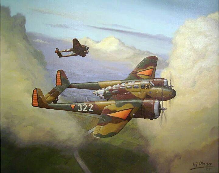 Dutch Fokker fighter