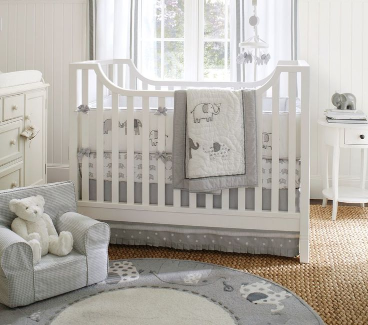 Hayden Cot  + Taylor Bed Linen Collection | Pottery Barn Kids Australia