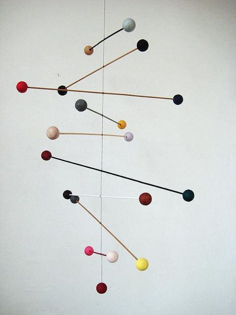 multicoloured mobile 4 by At Swim-Two-Birds, via Flickr