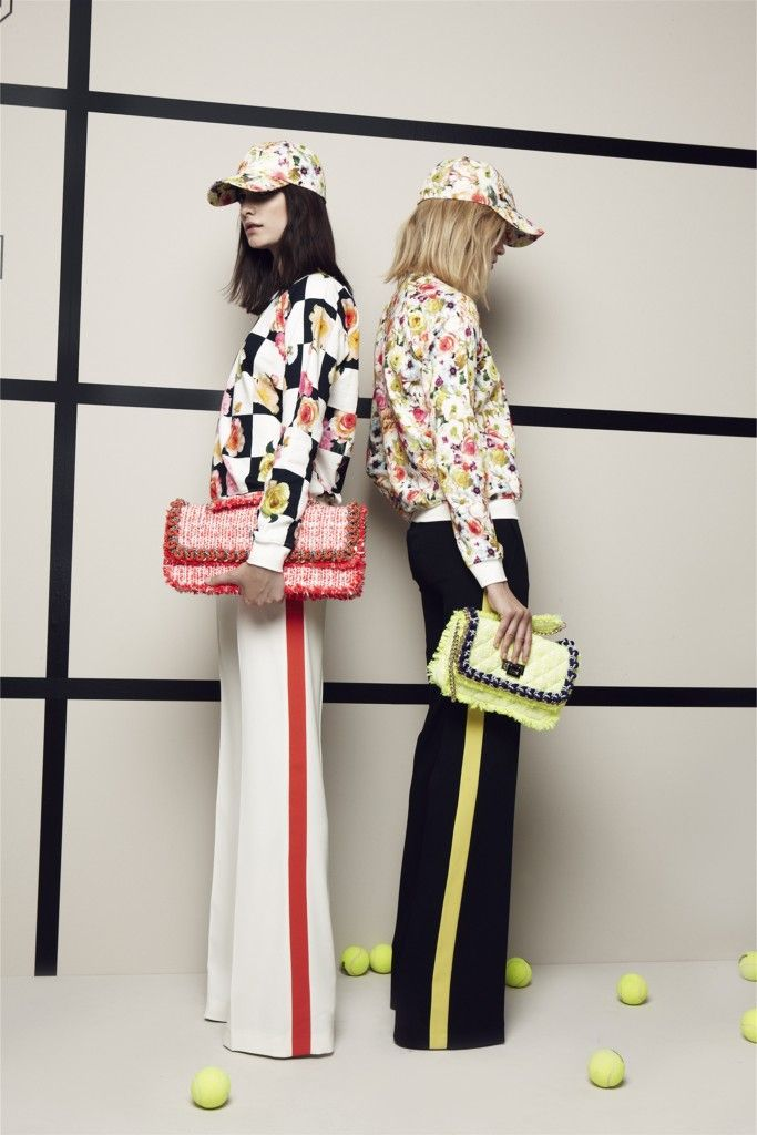 // MSGM // RESORT // 2013 // FLASHBACK // SPORT CHIC // SPORT LUXE // BASEBALL CAPS // FLORAL // MATCHY MATCHY //