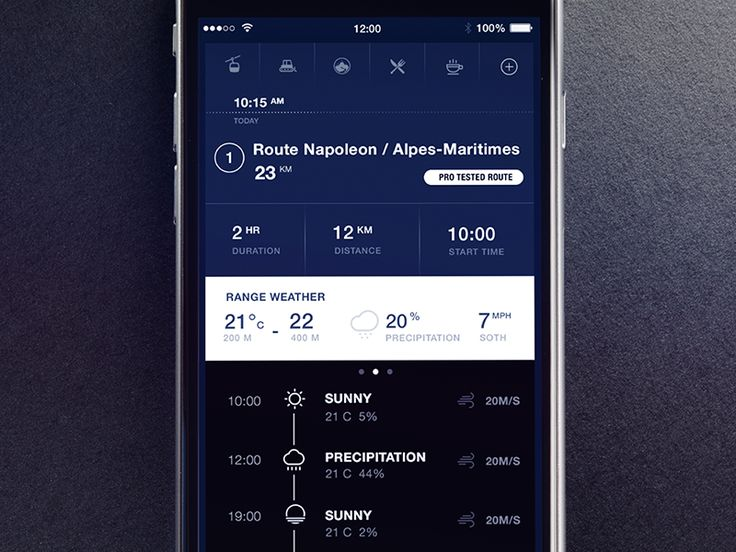 Simple app UX Dark by Gleb Kuznetsov✈