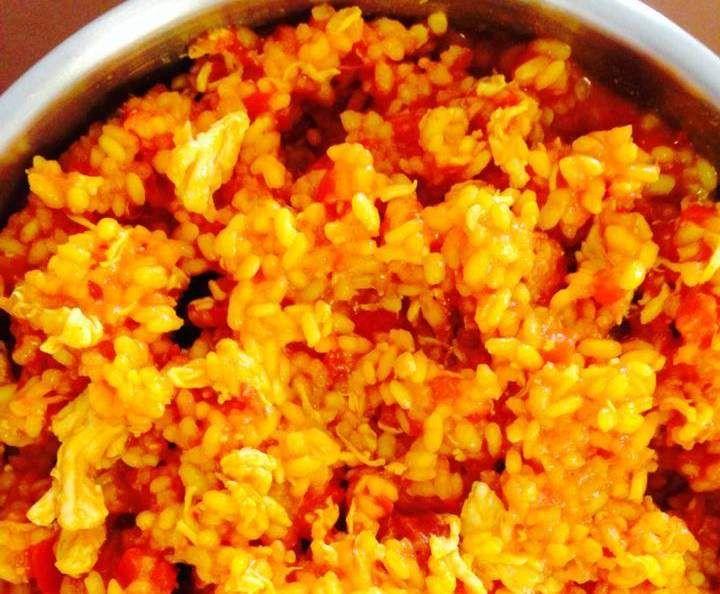Recipe chicken and chorizo paella by ThermoFlavour - Recipe of category Pasta