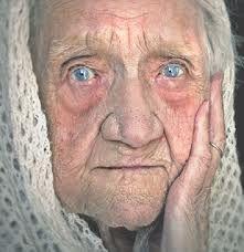 portrait de personne âgée