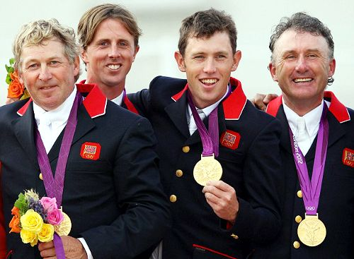 Team GB Medals 2012  36. Equestrian Jumping Team  (Nick Skelton, Ben Maher, Scott Brash and Peter Charles) - GOLD  (Equestrian: Team Jumping)