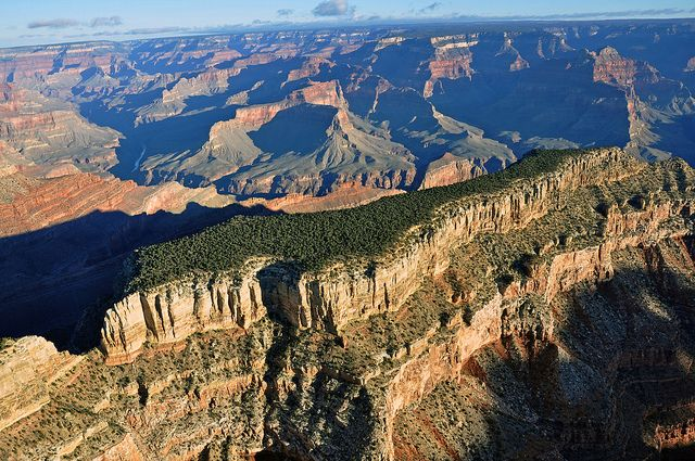Grand Canyon DEIS Aerial Photo: Diana Temple by Grand Canyon NPS, via Flickr