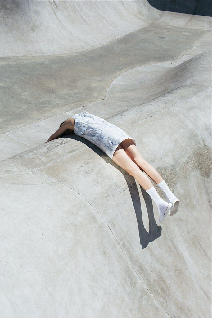 Valentin Chenaille for Tania Espinasse's graduate collection 'Empty Pool'