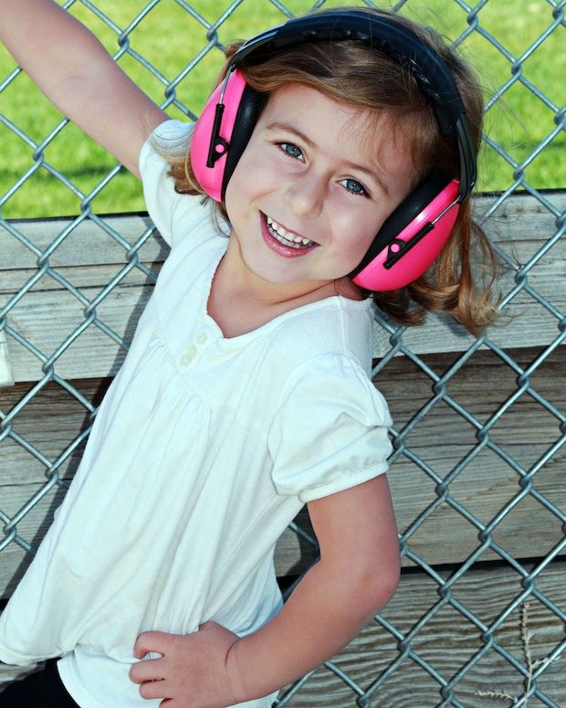 No probs wearing these! Happy and sound-safe in Baby Banz Protective Earmuffs in 'Pink' for 2-10+ years - buy yours here: http://babybanz.co.nz/product_info.php?cPath=156&products_id=572