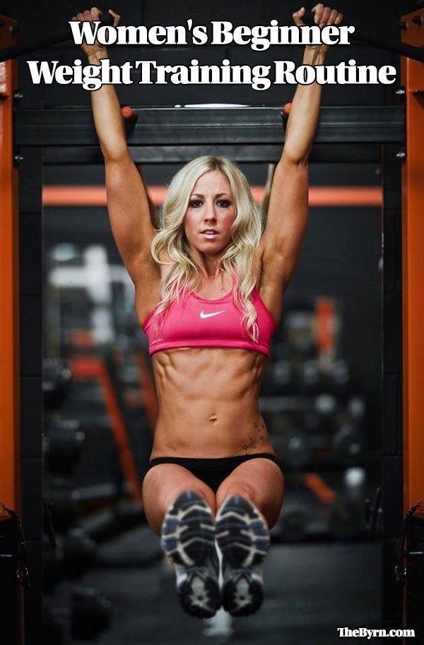 Women's Beginner Weight Training Routine