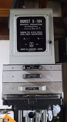 USED-Durst-L184-enlarger-10x10-Condenser-enlarger-with-extras