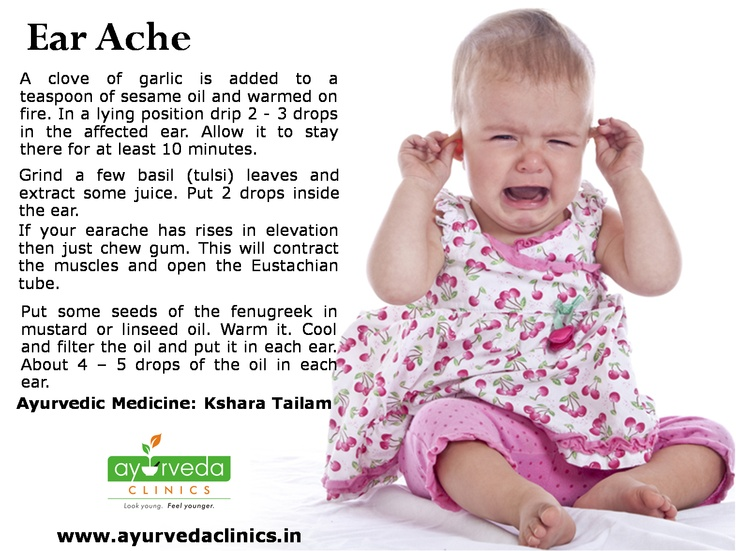 Earache is a painful aliment that affects adults and children. Known as Otalgia, it often results when there is an infection of the outer ear (otitis externa) and in the middle ear (otitis media). While buildup of fluids, cold and allergy is the main reason for ear ache in children, in adults it is usually an infection. An ear ache usually occurs when the small space behind the eardrum in the middle ear gets filled with mucus. This then gets infected by bacteria or viruses leading to ear…