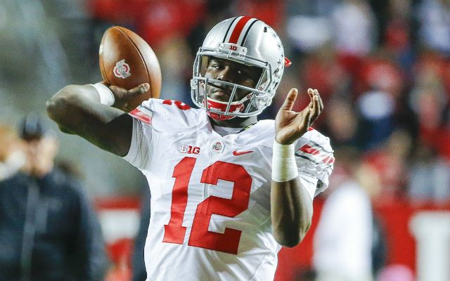 The Bills closed out the fourth round by taking Cardale Jones. (USATSI)