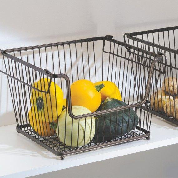 panier fer, panier fruits et légumes, On range tout