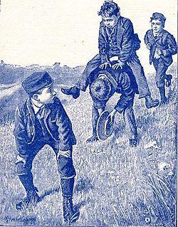 saute mouton | Enfants jouant à saute-mouton