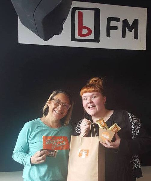 Yesterday I was invited along to 95 bFM and had a great interview with Esther of The Morning Glory Show.   I was nervous as it's something I've always wanted to