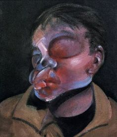 Francis Bacon (1909-1992) - Autoportrait à l'œil blessé