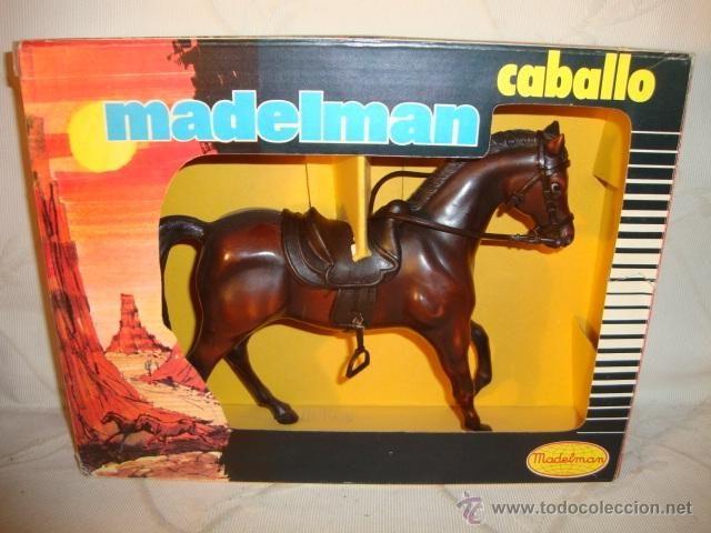 ¡¡LOS ORIGINALES!! MADELMAN CABALLO ALAZAN EN SU CAJA. Ref.712 (1977-1982)