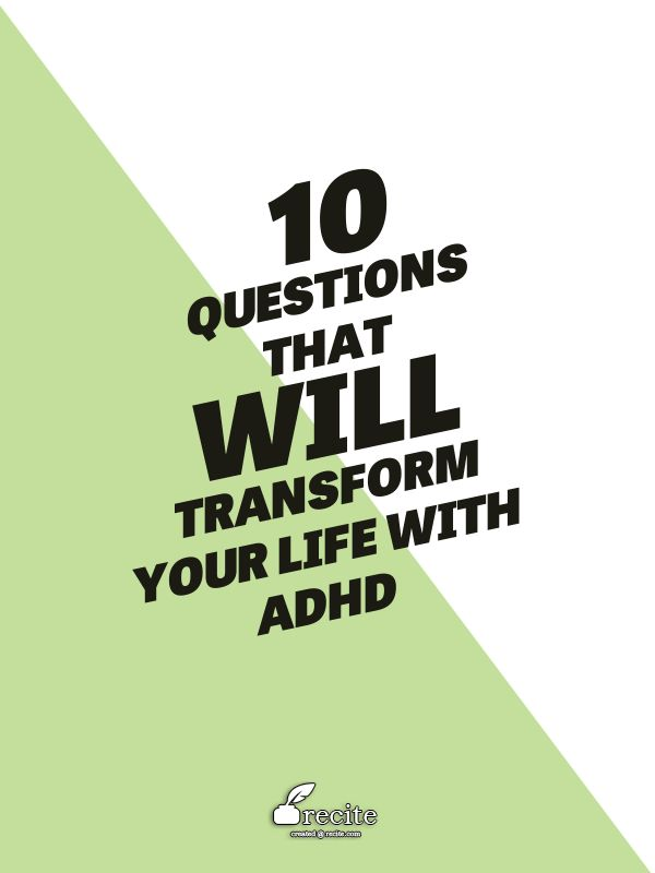 """1) Do I really need this? Stop impulsive shopping and stop wasting money. 2 ) Is this what I'm supposed to be doing right now? The secret to overcoming procrastination; staying on track; time management; and re-focusing. 3) ""Who do I want to be right now?"" Be your best self instead of being driven by ADHD symptoms... "" ~ Zoe Kessler"