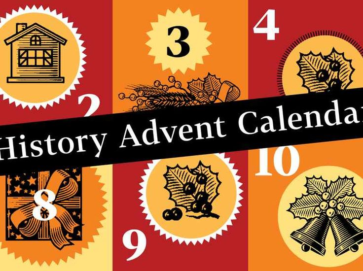 Count down to Christmas with our history advent calendar